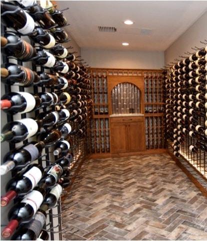 Refrigerated Custom Home Wine Cellar Built by Las Vegas Master Builders