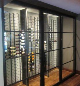VintageView Wine Racks Designed for a Custom Wine Cellar in Las Vegas