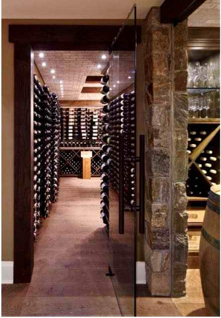 Well Insulated Climate-Controlled Custom Wine Cellar Las Vegas