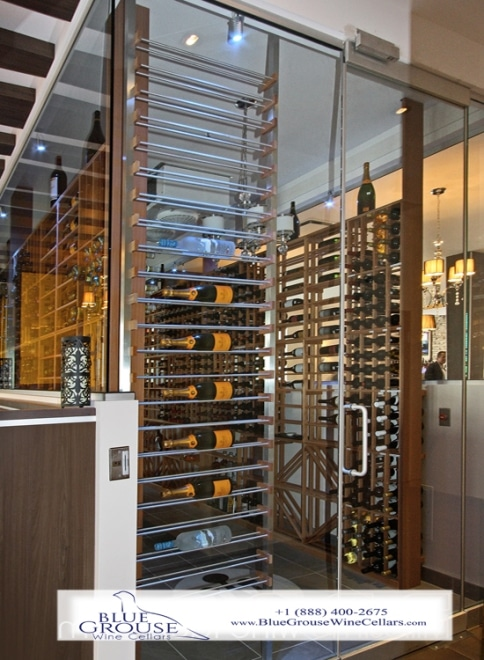 Glass Wine Cellars Designed By Las Vegas Experts