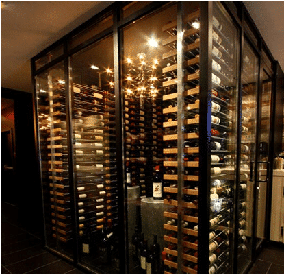 All Glass Wine Display Designed For Their WOW Factor