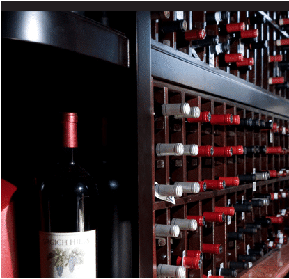 High Quality Commercial Wine Cellar Displays