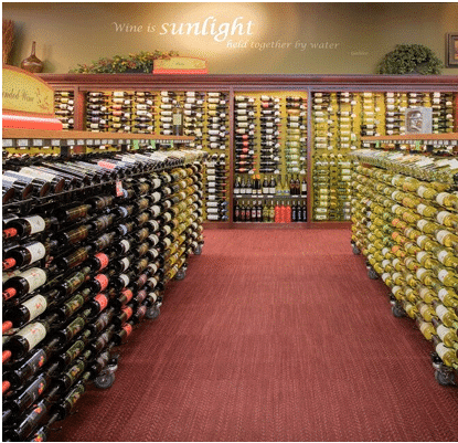 Wine Racks For Wine Stores