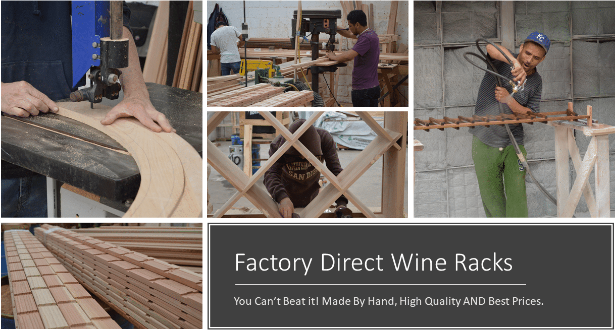 High Quality Discounted Wooden Wine Racks For Sale Best Prices