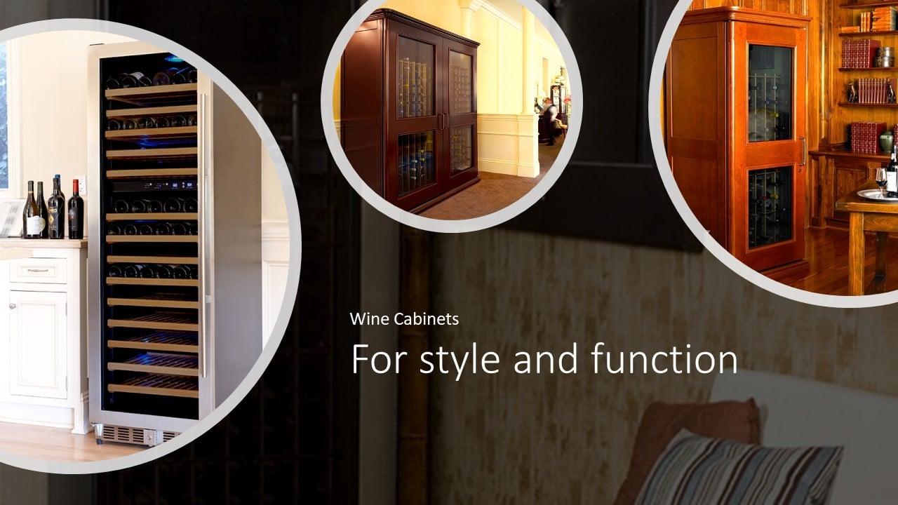 La Cache Wine Credenza : Le cache wine cabinets euro country series by wcd