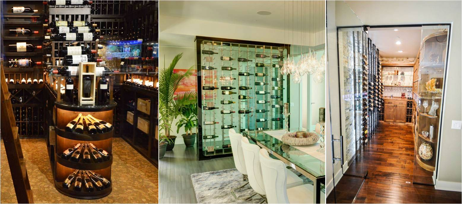 Stylish and Functional Custom Wine Rack Designs by Wine Cellar Designers Group