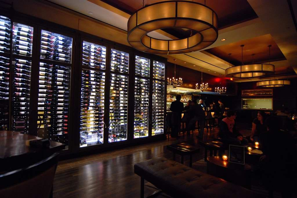 The-wine-bar-in-The-Muse-Hotel-New-York